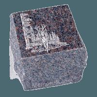 Garden Brown Granite Cremation Urn