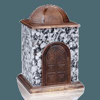 Bronze & Granite Gray Cremation Urn