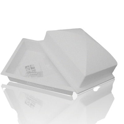 Crown Gray Cremation Urn Vault