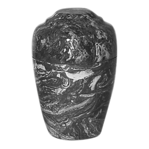 Ebony Marble Pet Cremation Urn