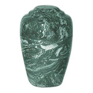 Emerald Marble Pet Cremation Urn
