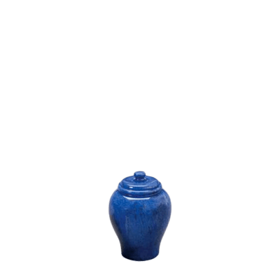 Blue Sky Small Marble Cremation Urn