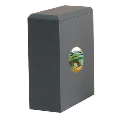 Irish Mountain Cremation Urn