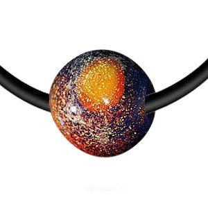 Nebula Memory Glass Pendant