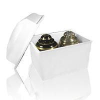 Dallas White Cremation Urn Vault