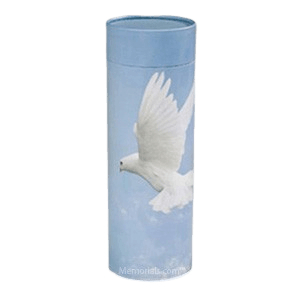 Dove Scattering Biodegradable Urn