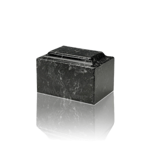 Ebony Marble Keepsake Urn