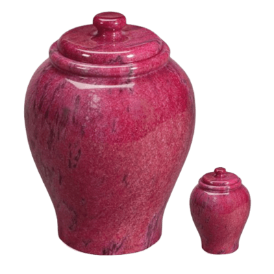 Lava Marble Cremation Urns