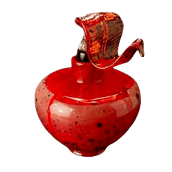 Faldo Temples Glass Urn
