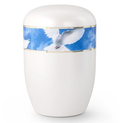 Flying Dove Biodegradable Urn