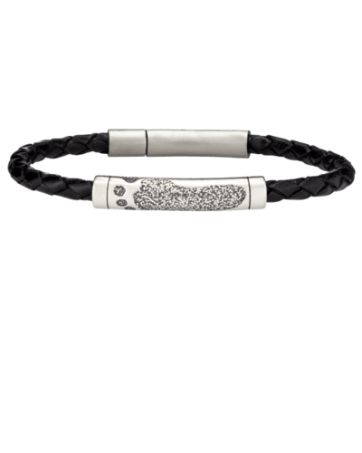 Footprint Rod Leather Bracelet