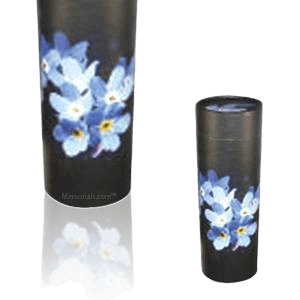 Forget Me Not Scattering Mini Biodegradable Urn