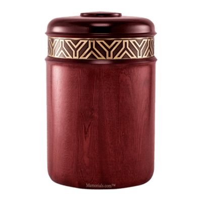 Gatsby Wood Cremation Urn