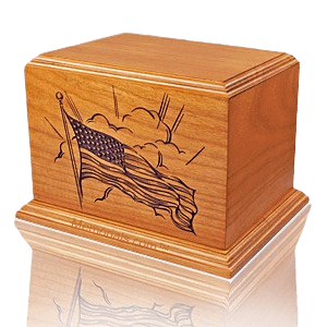 Old Glory Cremation Urn