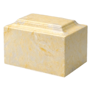 Gold Marble Cremation Urns