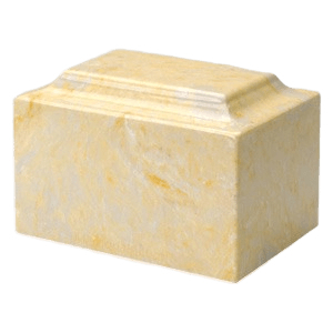 Gold Marble Individual Urn