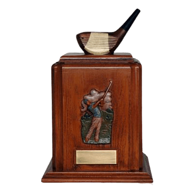 Golf Club Cremation Urn