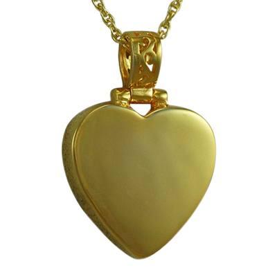 Grand Heart Keepsake Pendant For Two II