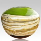 Sphere Green Cremation Urn For Two