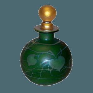 Emerald Round Keepsake Urn