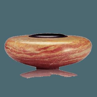 Alabaster Vessel Cremation Urn