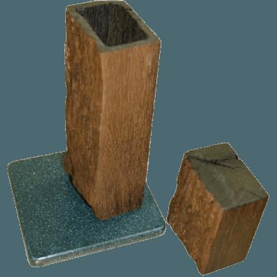 Historic Wood Cremation Urn