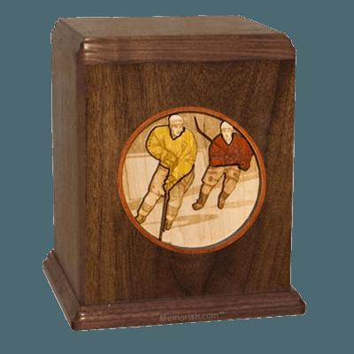 Hockey Cremation Urn