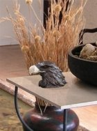 Eagle Bronze Keepsake Cremation Urn