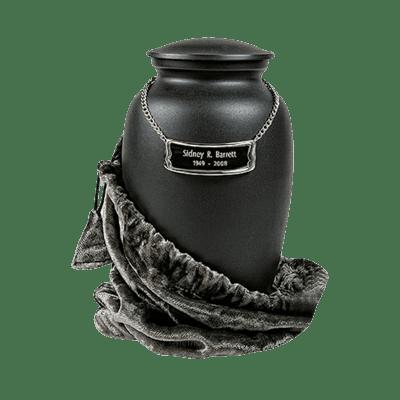 Slate Black Child Cremation Urn