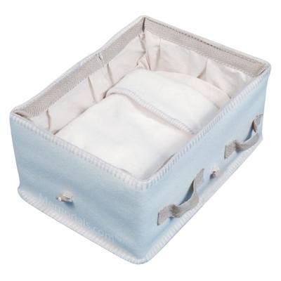 Infant Natural Large Woolen Casket
