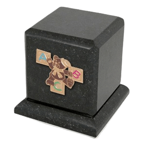 Graceful Cambrian ABC Teddy Cremation Urn