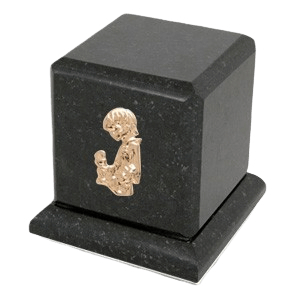 Graceful Cambrian Child with Toy Cremation Urn