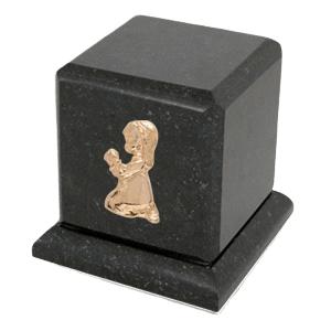 Graceful Cambrian Praying Girl Cremation Urn