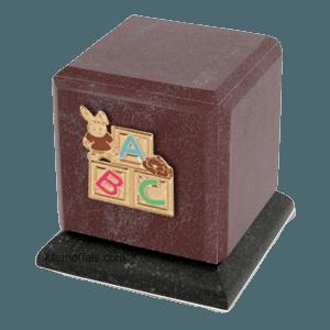 Graceful Rosso Children Cremation Urns