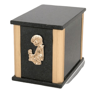 Solitude Cambrian Child with Toy Cremation Urn