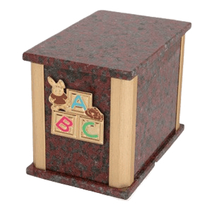 Solitude African Red ABC Bunny Cremation Urn