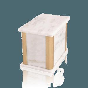 Solitude White Danby Marble Medium Urn
