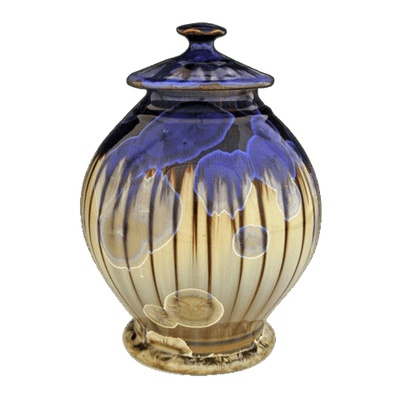 Stripes Art Cremation Urn