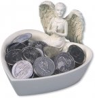 Assortment Angel Keepsake Coin Set