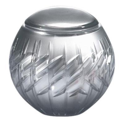 Crystal Glass Pet Urn