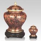 Harvest Cloisonne Cremation Urns