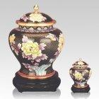 Mystic Cloisonne Cremation Urns