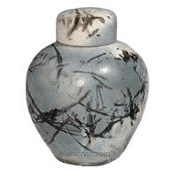 Arctic Ceramic Cremation Urn
