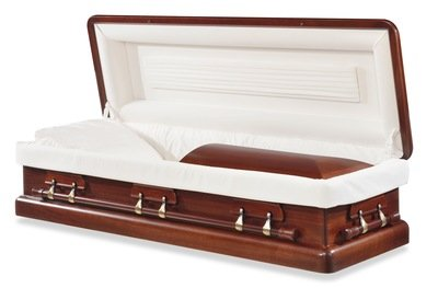 Kennedy Wood Casket