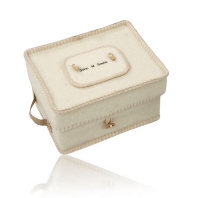 Natural Wool Cremation Urn
