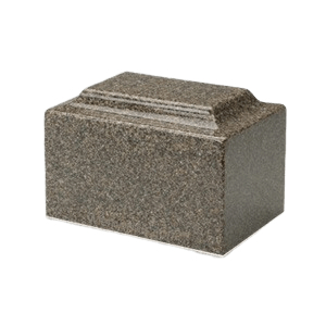 Kodiak Brown Granite Medium Urn