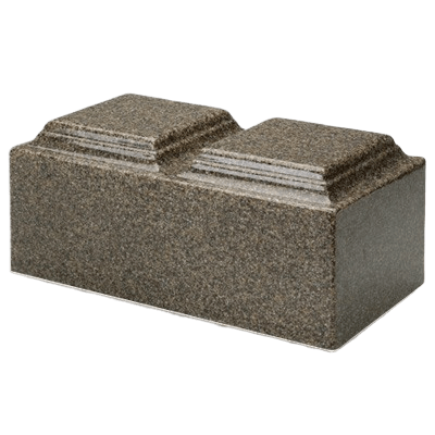 Kodiak Brown Granite Companion Urn