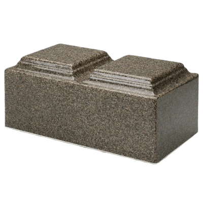Kodiak Brown Granite Companion Cremation Urn