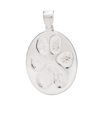 Pet Large Paw Print Sterling Keepsakes
