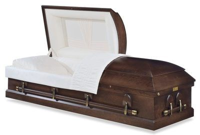 Lenox Walnut Wood Casket